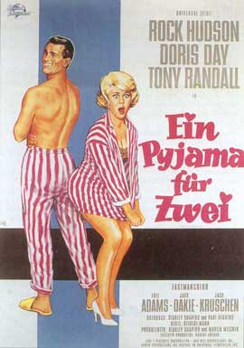 Lover Come Back - 11 x 17 Movie Poster - German Style A