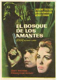 Lovers Woods - 11 x 17 Movie Poster - Spanish Style A