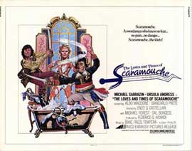 Loves & Times of Scaramouche - 11 x 14 Movie Poster - Style A