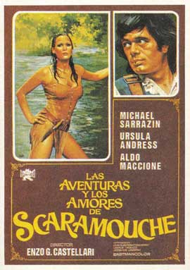 Loves & Times of Scaramouche - 11 x 17 Movie Poster - Spanish Style A