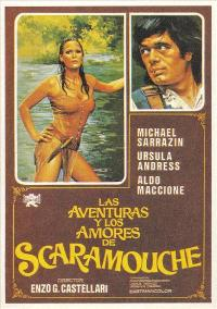 Loves & Times of Scaramouche - 43 x 62 Movie Poster - Spanish Style A