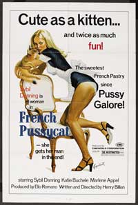 Loves of a French Pussycat - 43 x 62 Movie Poster - Bus Shelter Style B