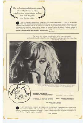 Loves of a Blonde - 11 x 17 Movie Poster - Style A