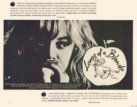 Loves of a Blonde - 22 x 28 Movie Poster - Half Sheet Style A