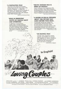 Loving Couples - 27 x 40 Movie Poster - Style A