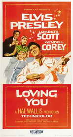 Loving You - 27 x 40 Movie Poster - Style D