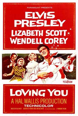 Loving You - 27 x 40 Movie Poster - Style A