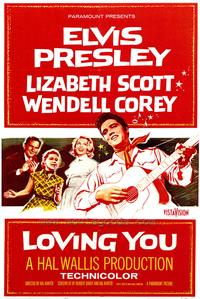 Loving You - 43 x 62 Movie Poster - Bus Shelter Style A