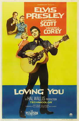 Loving You - 11 x 17 Movie Poster - Style B