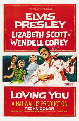 Loving You - 27 x 40 Movie Poster - Style C