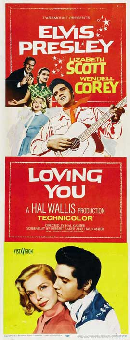 Loving You - 14 x 36 Movie Poster - Insert Style A
