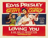 Loving You - 30 x 40 Movie Poster - Style A