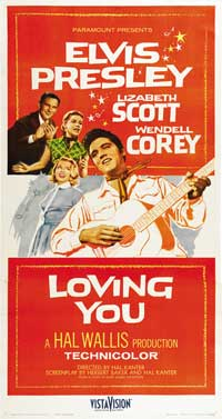 Loving You - 41 x 81 3 Sheet Movie Poster - Style A