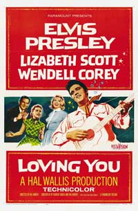 Loving You - 43 x 62 Movie Poster - Bus Shelter Style B