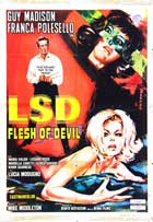 LSD Flesh of Devil - 27 x 40 Movie Poster - Style A