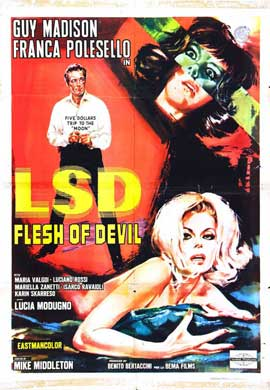 LSD Flesh of Devil - 11 x 17 Movie Poster - Style A