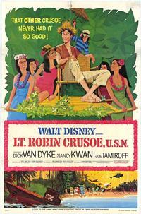 Lt. Robin Crusoe, U.S.N. - 11 x 17 Movie Poster - Style A