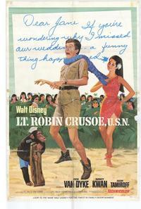 Lt. Robin Crusoe, U.S.N. - 11 x 17 Movie Poster - Style B