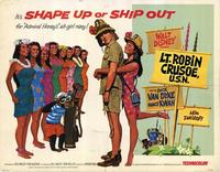 Lt. Robin Crusoe, U.S.N. - 11 x 14 Movie Poster - Style A