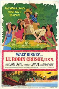 Lt. Robin Crusoe, U.S.N. - 27 x 40 Movie Poster - Style A