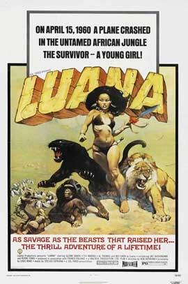 Luana, the Girl Tarzan - 27 x 40 Movie Poster - Style A