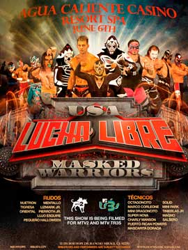Lucha Libre USA Masked Warriors - 30 x 40 TV Poster - Style A