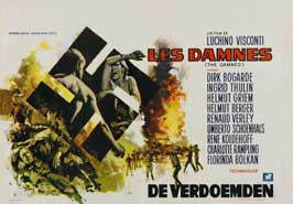 Luchino Visconti's The Damned - 27 x 40 Movie Poster - Danish Style A