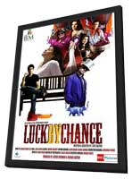 Luck by Chance - 11 x 17 Movie Poster - Indian Style A - in Deluxe Wood Frame