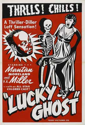 Lucky Ghost - 27 x 40 Movie Poster - Style B