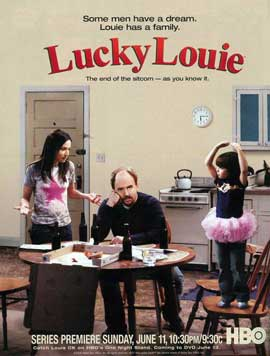 Lucky Louie - 11 x 17 TV Poster - Style A
