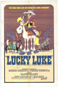 Lucky Luke - 43 x 62 Movie Poster - Bus Shelter Style A