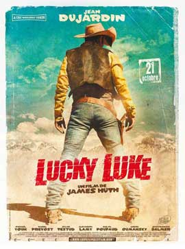 Lucky Luke - 11 x 17 Movie Poster - French Style A