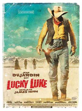 Lucky Luke - 11 x 17 Movie Poster - French Style B