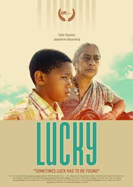 Lucky - 27 x 40 Movie Poster - South Africa Style B