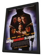Lucky Number Slevin - 27 x 40 Movie Poster - Style A - in Deluxe Wood Frame