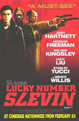 Lucky Number Slevin - 11 x 17 Movie Poster - Style C