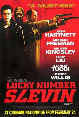 Lucky Number Slevin - 27 x 40 Movie Poster - Style B