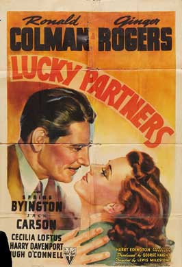 Lucky Partners - 11 x 17 Movie Poster - Style A
