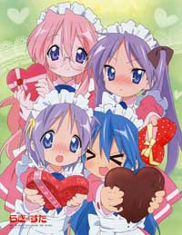 Lucky Star (TV) - 43 x 62 TV Poster - Japanese Style F