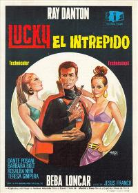 Lucky, the Inscrutable - 11 x 17 Movie Poster - Spanish Style A