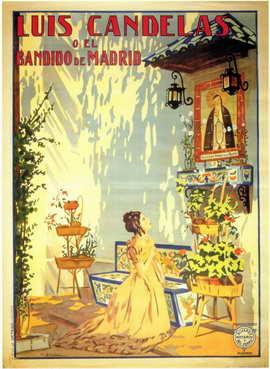 Luis Candelas O El Bandido de Madrid - 11 x 17 Movie Poster - Spanish Style A