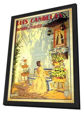 Luis Candelas O El Bandido de Madrid - 11 x 17 Movie Poster - Spanish Style A - in Deluxe Wood Frame
