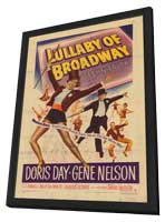 Lullaby of Broadway - 11 x 17 Movie Poster - Style A - in Deluxe Wood Frame