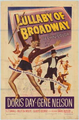 Lullaby of Broadway - 27 x 40 Movie Poster - Style A