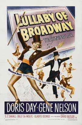 Lullaby of Broadway - 27 x 40 Movie Poster - Style B