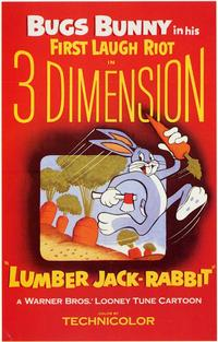 Lumber Jack-Rabbit - 11 x 17 Movie Poster - Style A