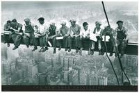 Lunchtime Rockefeller Center - Photography Poster - 24 x 36 - Style B