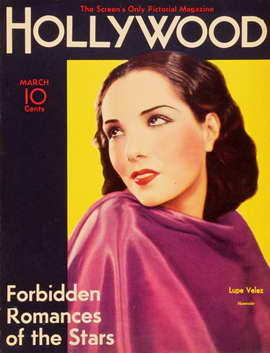 Lupe Velez - 11 x 17 Hollywood Magazine Cover 1940's Style A