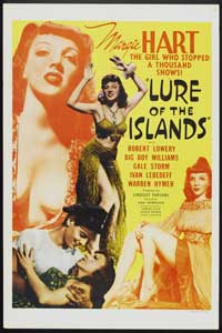 Lure of the Islands - 11 x 17 Movie Poster - Style A