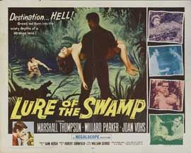 Lure of the Swamp - 27 x 40 Movie Poster - Style A